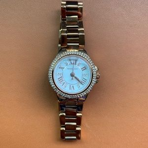 Michael Kors Camille White Dial Rose Gold Watch
